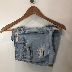 Pacsun High Waisted Jean Mom Shorts